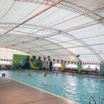 Avellaneda: Nueva sistema de Calefacción en el Polideportivo Delfo Cabrera