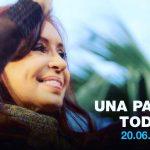Cristina Fernandez de Kirchner presentó el nuevo Frente Unidad Ciudadana