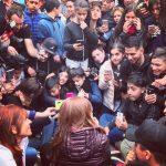 Avellaneda: Cristina Fernández de Kirchner pidió al gobierno  que «cambie el rumbo económico»
