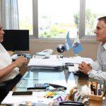 Ferraresi mantuvo un encuentro con el diputado nacional Carlos Castagneto