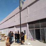 La Escuela Secundaria Tecnica de la UNDAV avanza las obras de infraestructura