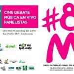 Jornada por el Paro Internacional de Mujeres en el Centro Municipal de Arte