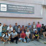 Nueva jornada de trabajo en la Escuela Secundaria Técnica de la UNDAV