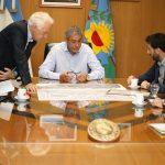Racing Club mantuvo una reunión con el municipio para realizar mejoras en el desarrollo urbano