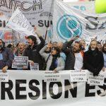 """Paro docente: """"No quieren al movimiento obrero organizado"""""""