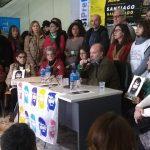 Marcha a un año de la desaparición forzada de Santiago Maldonado