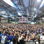Multitudinaria convocatoria en el plenario de Unidad Ciudadana
