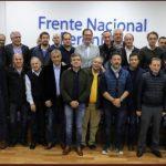 Jorge Ferraresi mantuvo un encuentro con dirigentes del peronismo bonaerense