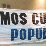 """El colectivo """"Somos Cultura"""" manifestó su apoyo a la movilización y el paro general"""
