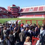 Estudiantes que participan de las Olimpiadas de Química recorrieron el patrimonio cultural de la Ciudad