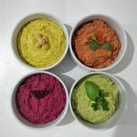 Hummus arcoiris